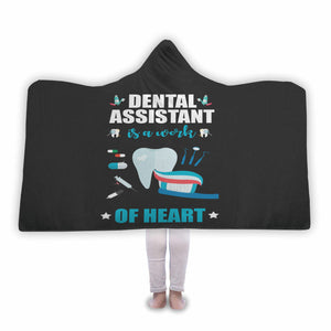 Dental Assistant - Hooded Blanket