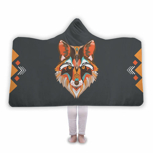 Wolf - Hooded Blanket