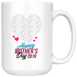 """Happy Mother's Day 2019"" Personalized Mug"
