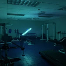 gym uv light sanitizer whole room