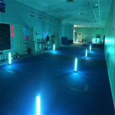 hallway tabletop floor uv light sanitizer