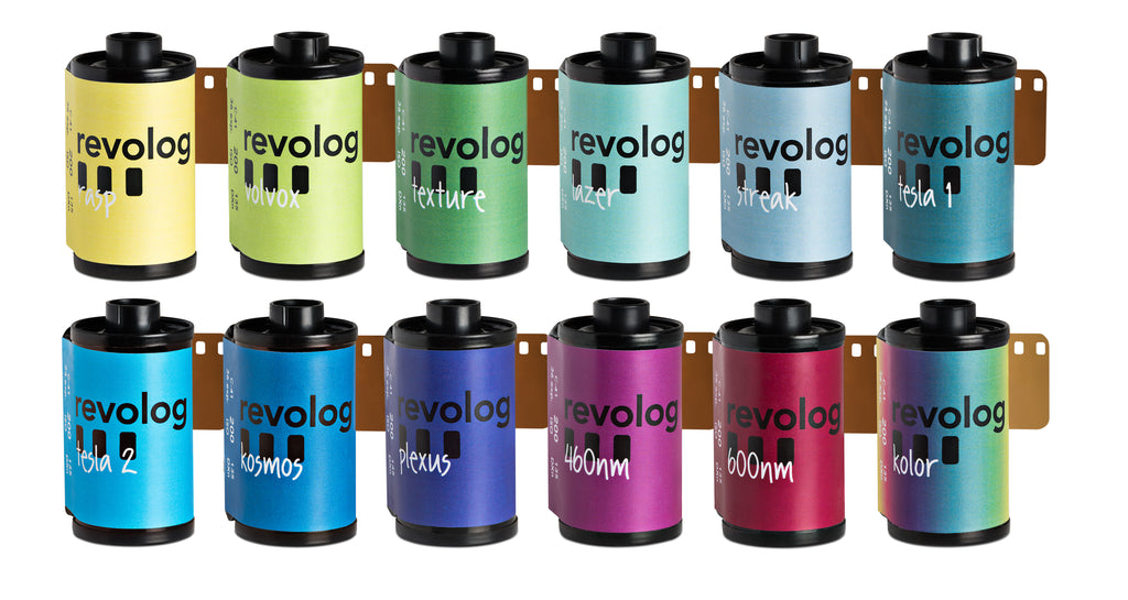 all revolog colour 35mm films