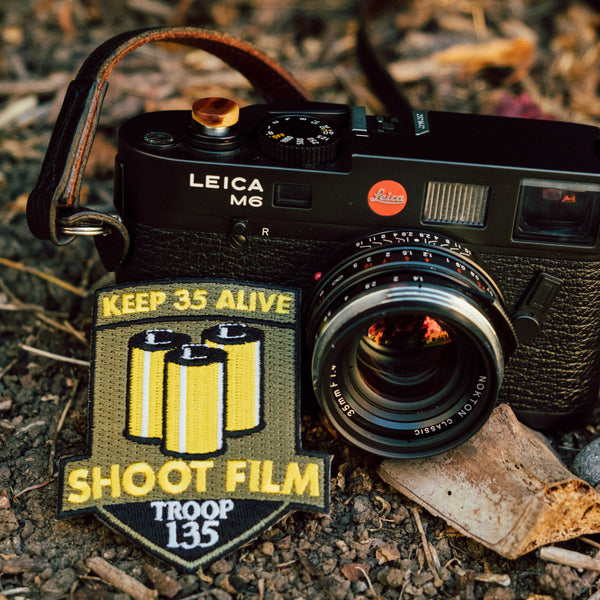 Leica M6 and ShootFilmCo Patch