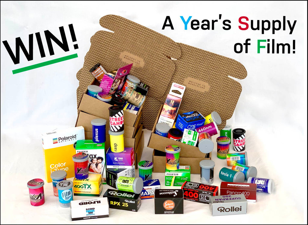 Win a Year's Supply of Film | Analogue Wonderland Birthday Giveaway