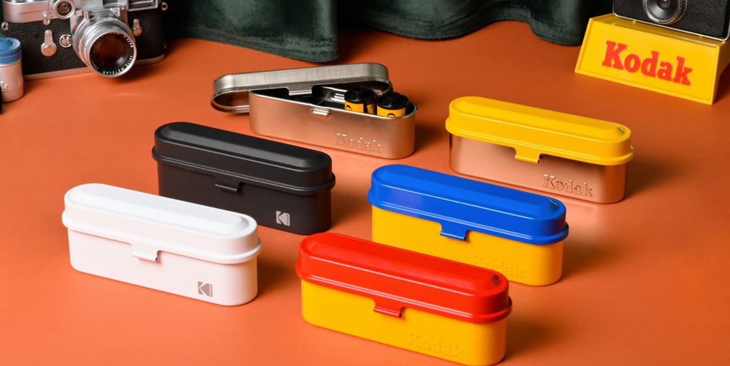 Kodak Film Cases - choice of colour