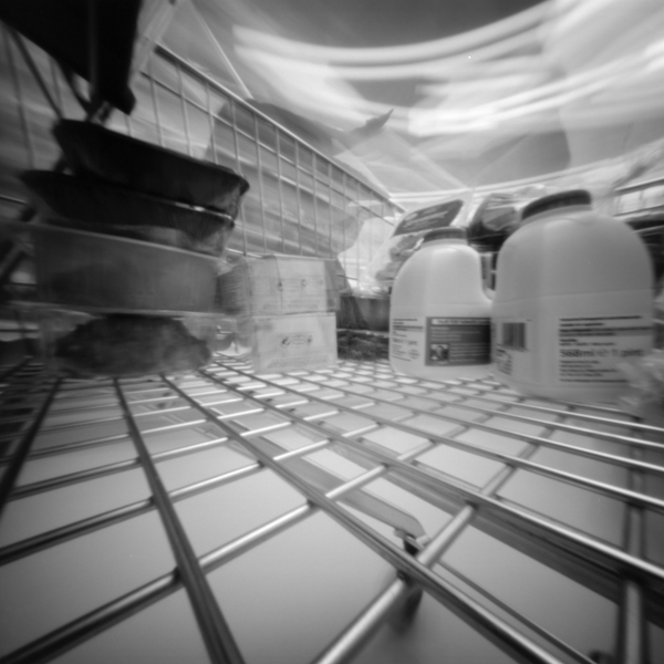 Trolley Pinhole Image | Neil Piper | Analogue Wonderland