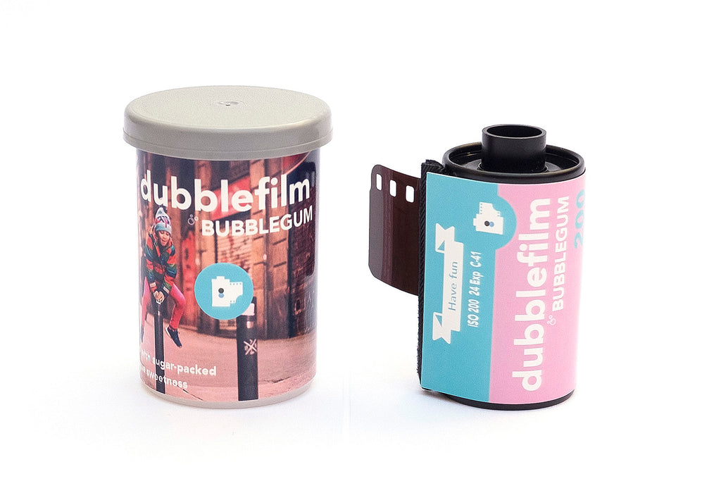 Dubble film bubblegum 35mm film - analogue wonderland