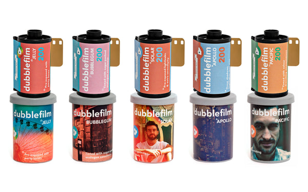 New Dubblefilm family - 35mm colour film - Analogue Wonderland