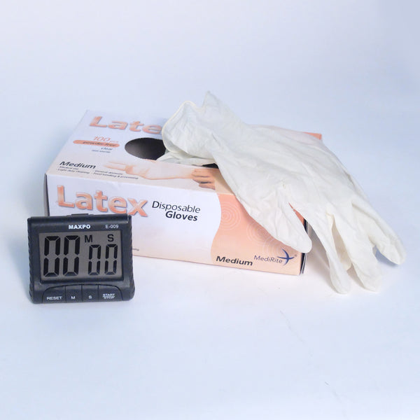 gloves for developing photographic film