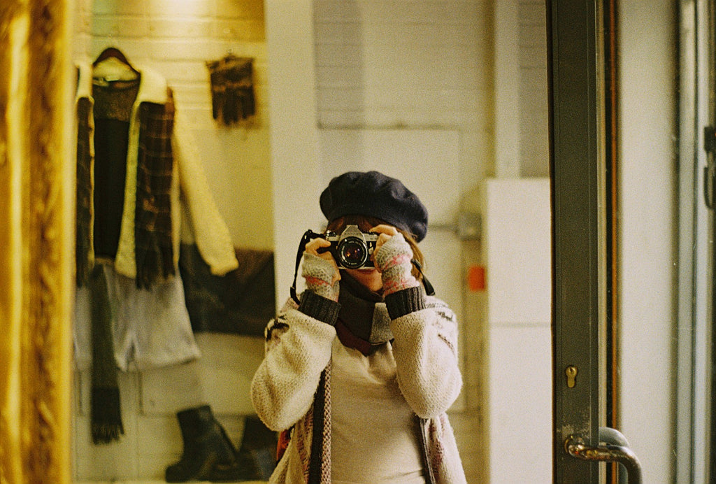 Hannah Brown self portrait | Lomography Interview | Analogue Wonderland