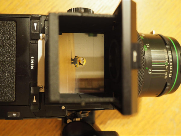 viewfinder for bronica medium format 120 film camera