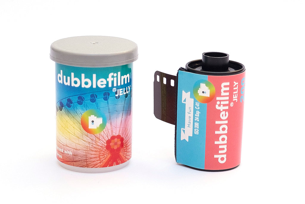 jelly 35mm film - dubble film - analogue wonderland