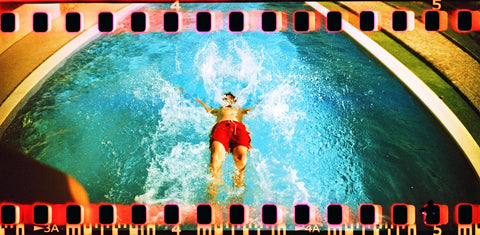 Lomography Sprocket Rocket Red - 35mm Film Camera | Analogue Wonderland Sample