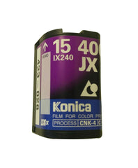 Packshot Konica JX Film APS Colour ISO 400