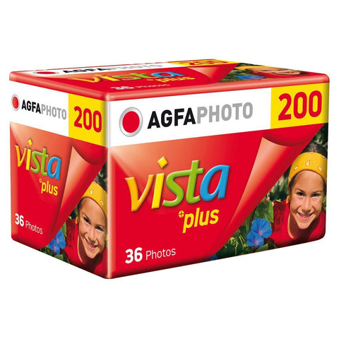 Packshot AgfaPhoto Vista Film 35mm Colour ISO 200