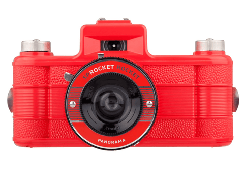 Lomography Sprocket Rocket Red - 35mm Film Camera | Analogue Wonderland
