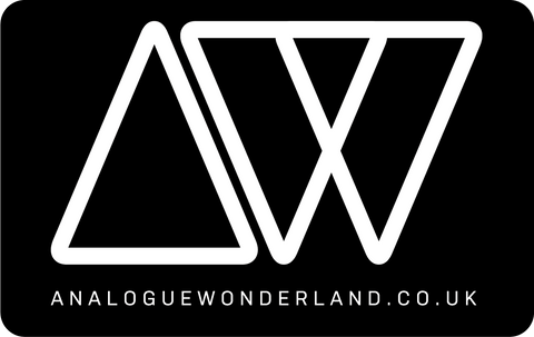 Analogue Wonderland Mono Sticker - Analogue Wonderland