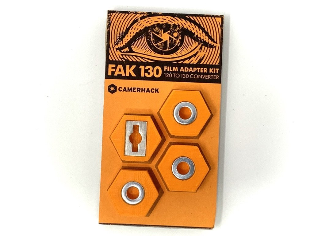Camerhack Adapter for 130 Film Cameras: FAK130 - Analogue Wonderland