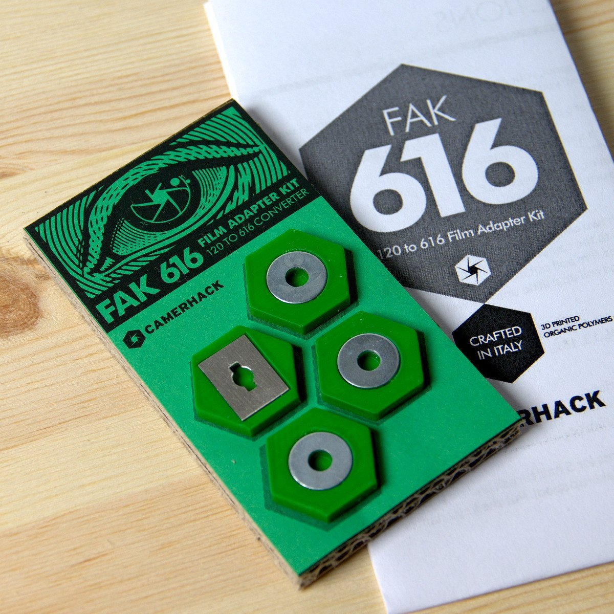 Camerhack Adapter for 616 Film Cameras: FAK616 - Analogue Wonderland