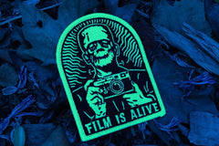 Film is Alive - Glow in the Dark! - Film Photography Patch - Analogue Wonderland