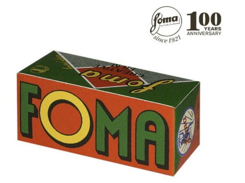 Foma Creative B&W 120 Film - ISO 200 - RETRO packaging! - Analogue Wonderland