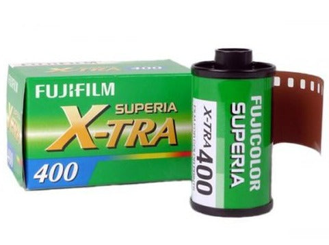 Fujifilm Superia X-Tra Film 35mm Colour ISO 400 - Analogue Wonderland