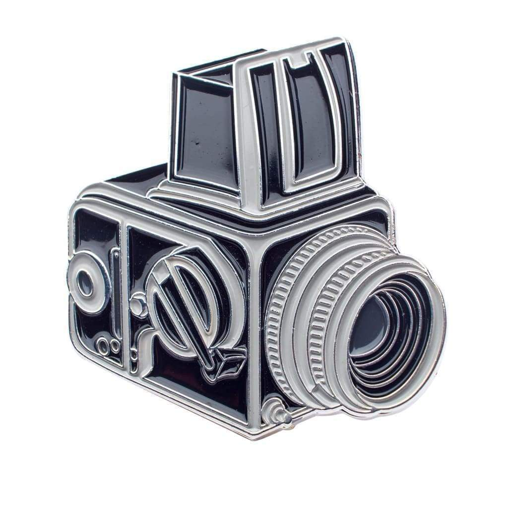 Hassy Film Camera Enamel Pin - Analogue Wonderland