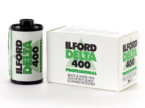 Ilford Delta Film 35mm B&W ISO 400 - Analogue Wonderland