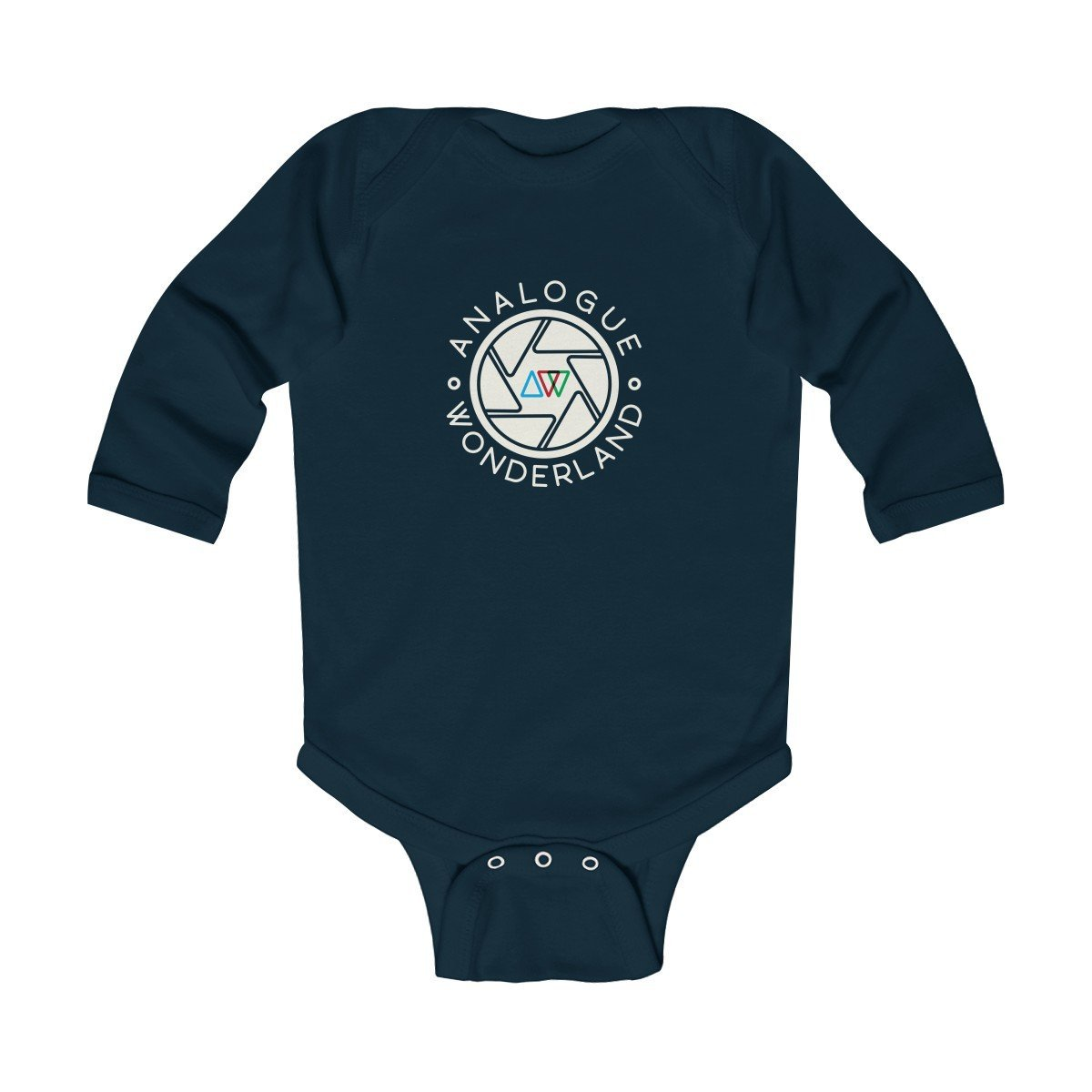 Infant Long Sleeve Soft Cotton Bodysuit - for budding Film Photographers! - Analogue Wonderland