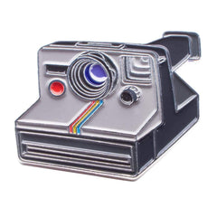 Instant Film Camera #2 - Enamel Pin - Analogue Wonderland