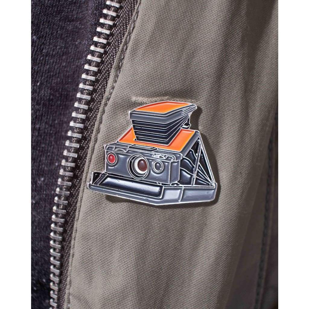 Instant Film Camera Enamel Pin - Analogue Wonderland