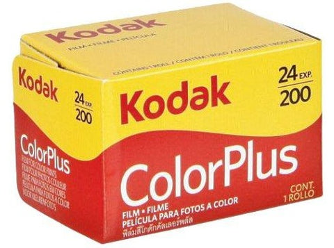 Kodak ColorPlus 200 35mm 24exp Colour Film - Analogue Wonderland