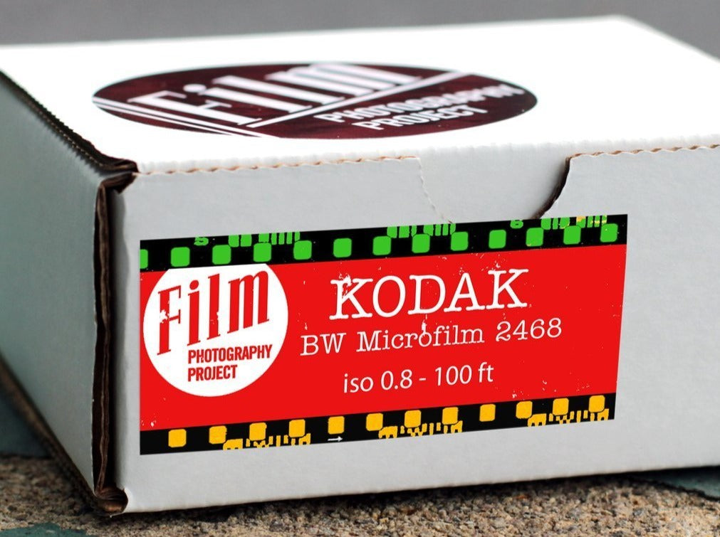 Kodak Microfilm B&W Film - ISO 0.8 - Analogue Wonderland