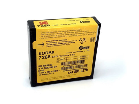 Kodak Tri-X Reversal - 16mm Movie Film - Analogue Wonderland