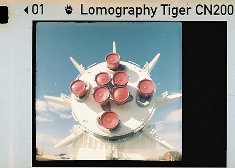 Lomography Color Tiger Film - Colour 110 Film ISO 200 - Analogue Wonderland
