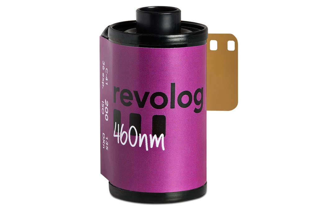 Revolog 460nm Film 35mm Colour ISO 200 - Analogue Wonderland