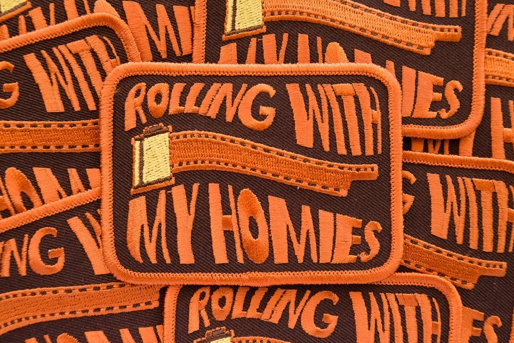 Rolling With My Homies - Film Photography Patch - Analogue Wonderland