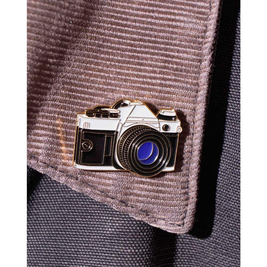 SLR #1 Film Camera Enamel Pin - Analogue Wonderland