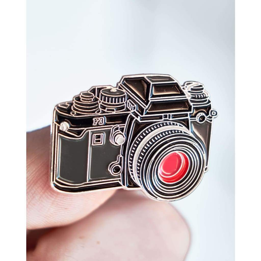 SLR #2 Film Camera Enamel Pin - Analogue Wonderland