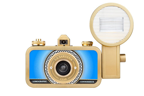 La Sardina 35mm Film Camera and Flash: Czar Edition | Analogue Wonderland