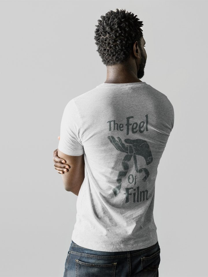 Unisex V-Neck T-Shirt for Film Photographers - Feel of Film - Analogue Wonderland