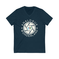 Unisex V-Neck T-Shirt for Film Photographers - Shutter - Analogue Wonderland