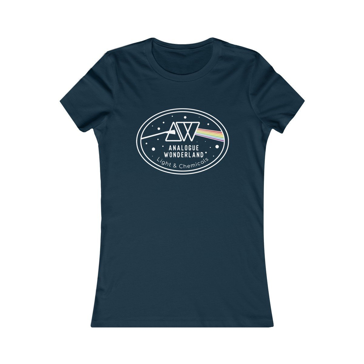 Women's T-Shirt for Film Photographers - Prism of Light - Analogue Wonderland