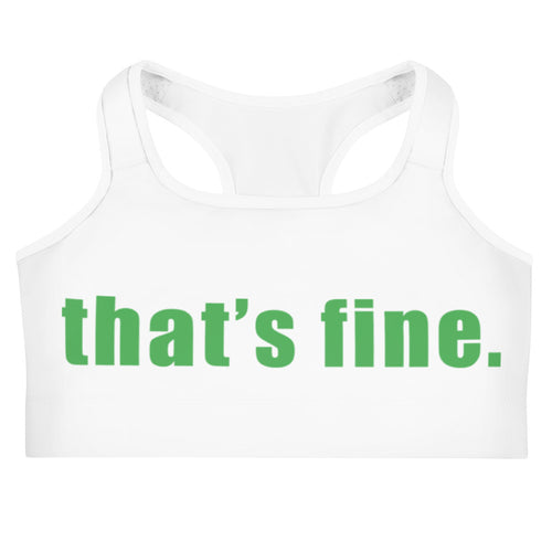 This is a fine Sports Bra