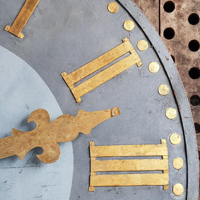 FRENCH CATHEDRAL CLOCKFACE