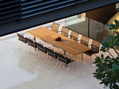 Copy of Taboela Extendable Dining Tables by Royal Botania