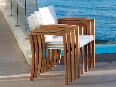 XQI Outdoor Dining Chair by Royal Botania