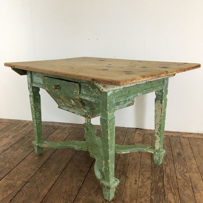 ANTIQUE FRENCH ALSACIENNE TABLE SOLD