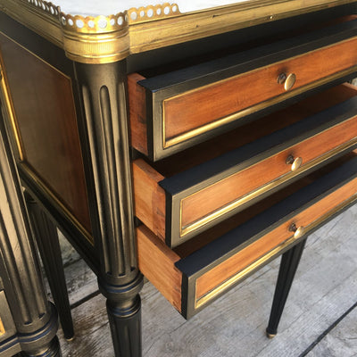 EMPIRE BEDSIDE TABLES