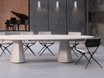 Conix Round Dining Table